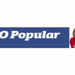 Matéria O Popular. Menção a Nycolle Soares.