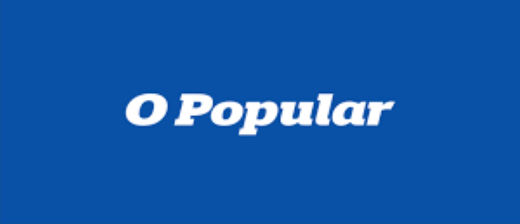 """Artigo Jornal """"O Popular"""". Autora: Lana Castelões."""